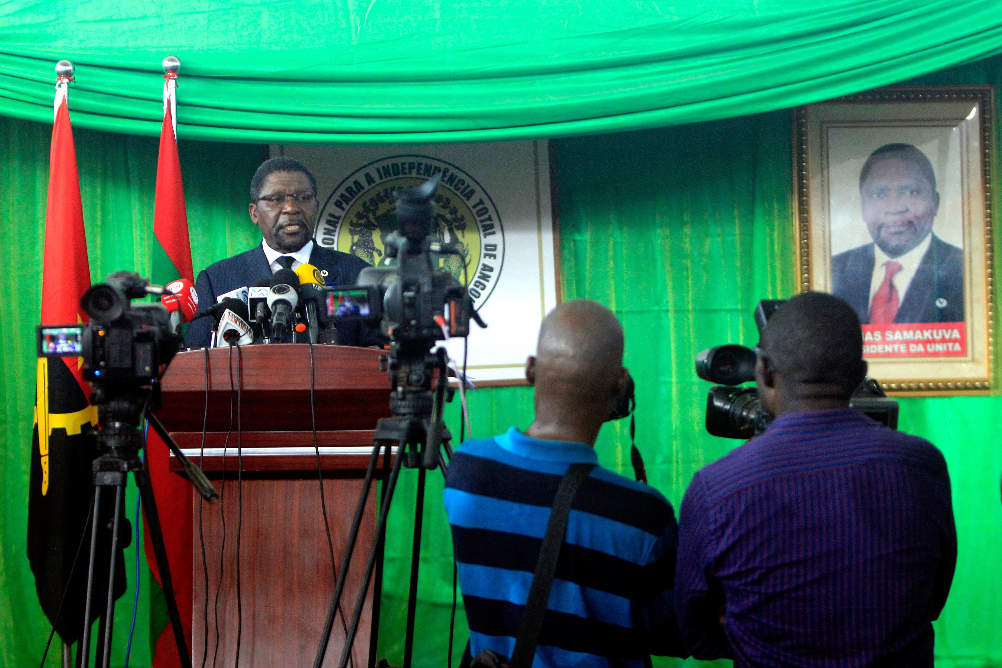 Comissão Política da UNITA reunida a partir de hoje em Luanda para marcar congresso