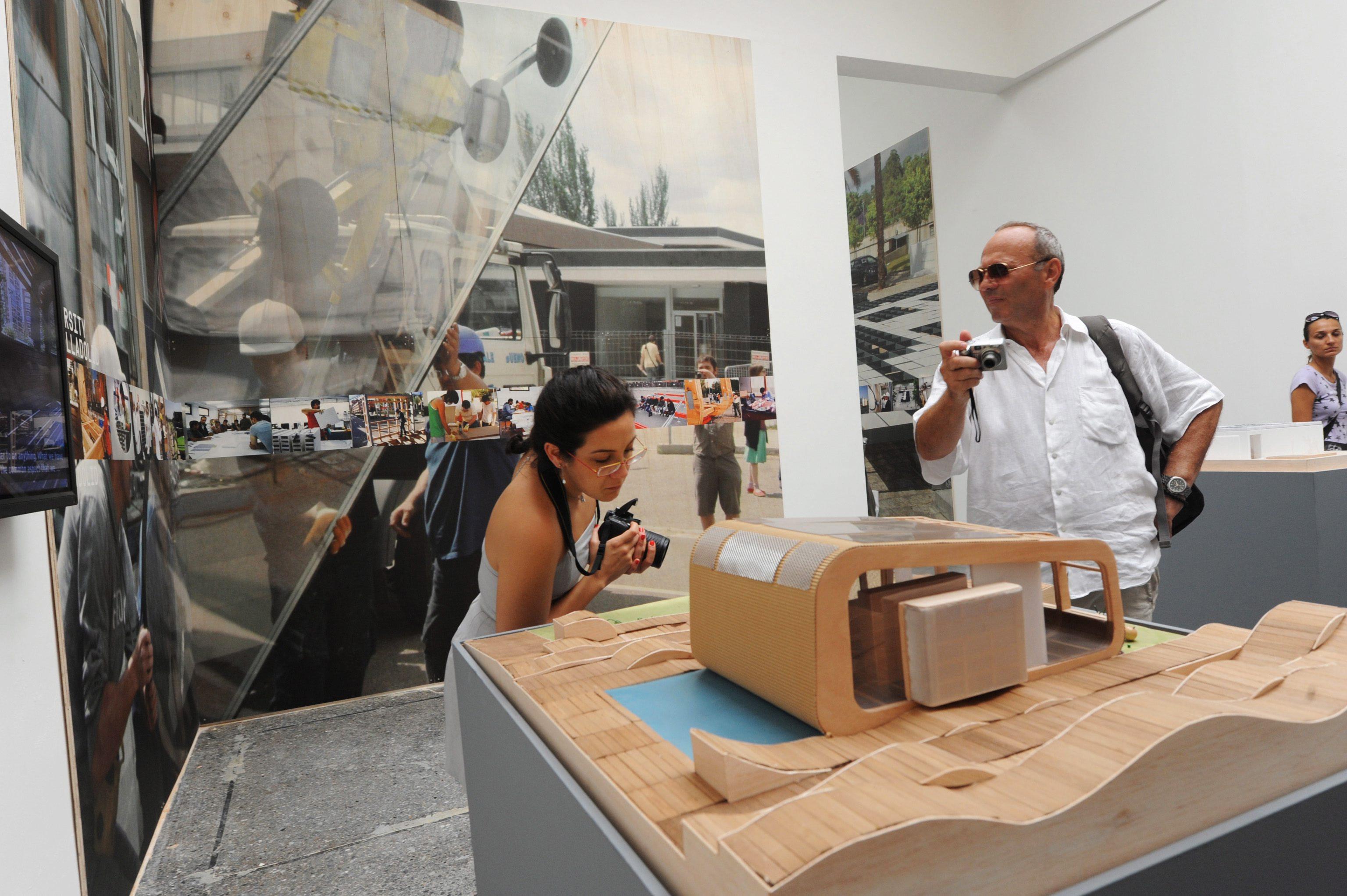 Pavilhão de Espanha ganha leão de Ouro da XV Bienal de Arquitetura