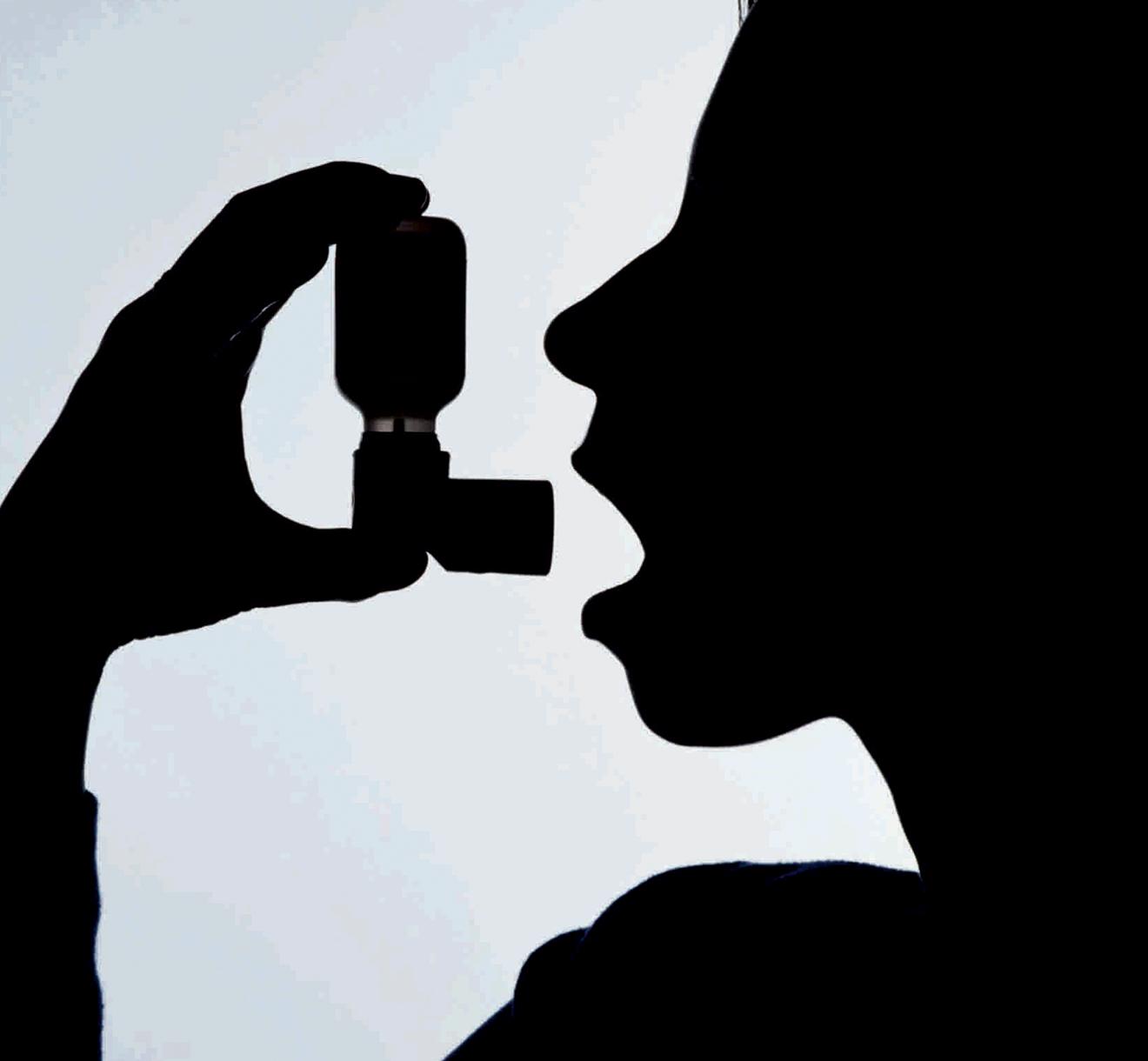 Nove em cada 10 asmáticos não têm a doença controlada