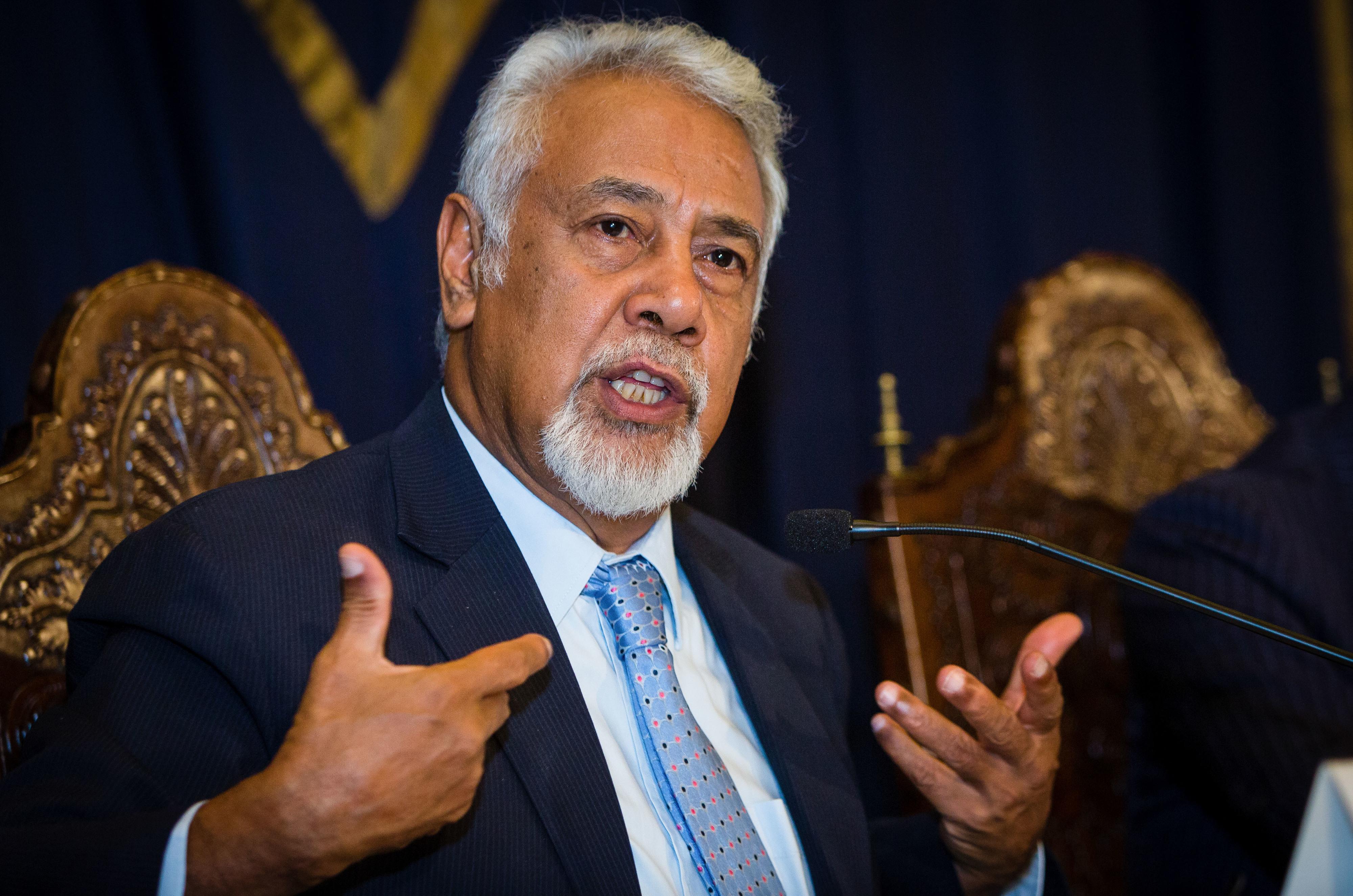 Xanana Gusmão conduz ratificação de tratado de fronteiras do Mar de Timor