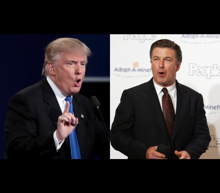 Alec Baldwin a imitar Trump é 'impagável'!