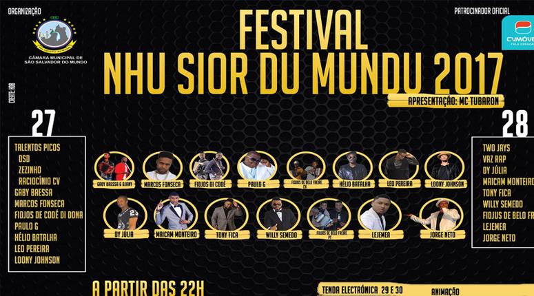 festival Nhu Senhor do Mundo