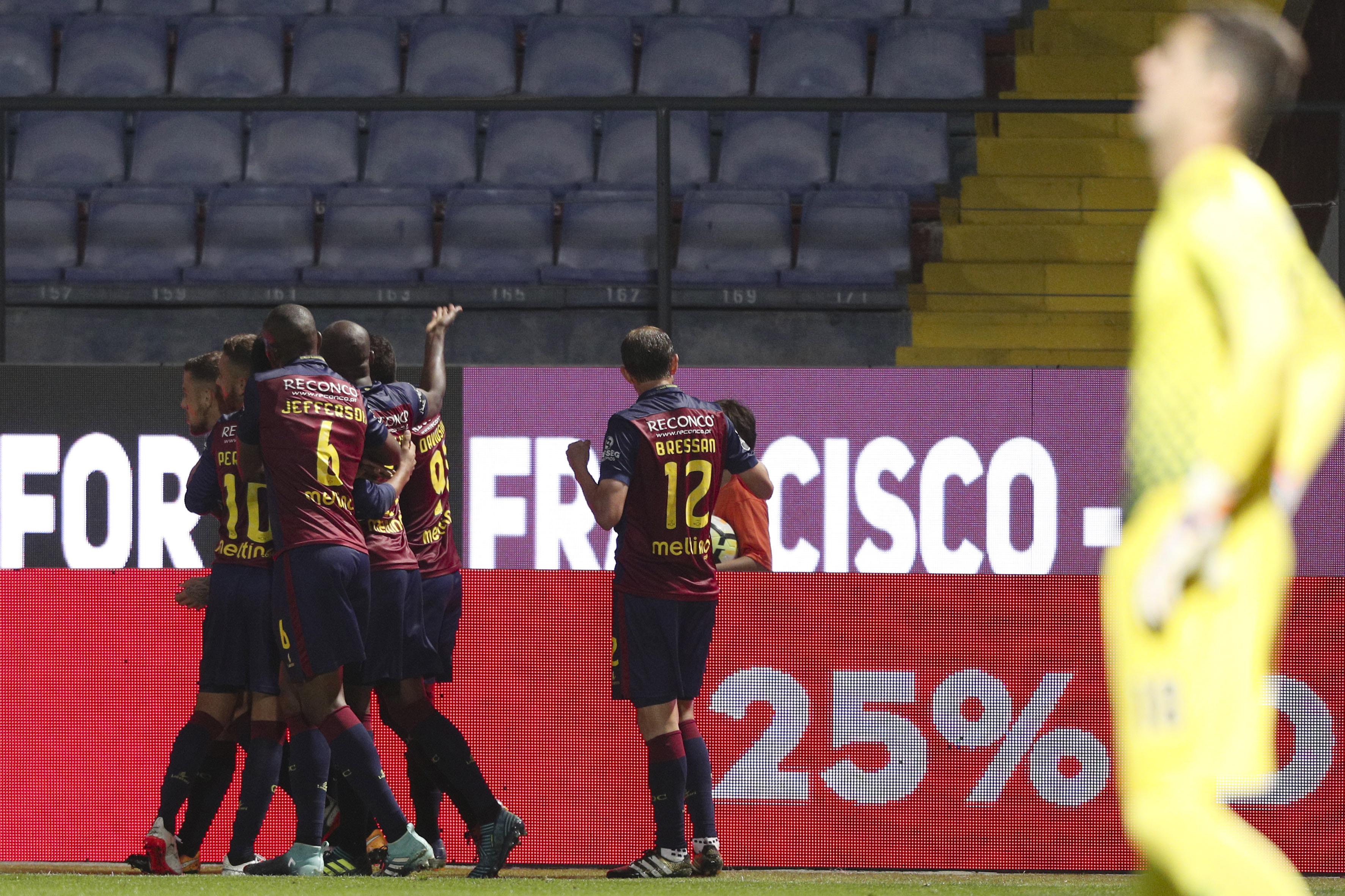 Desportivo de Chaves vence pela primeira vez na presente edição da Liga