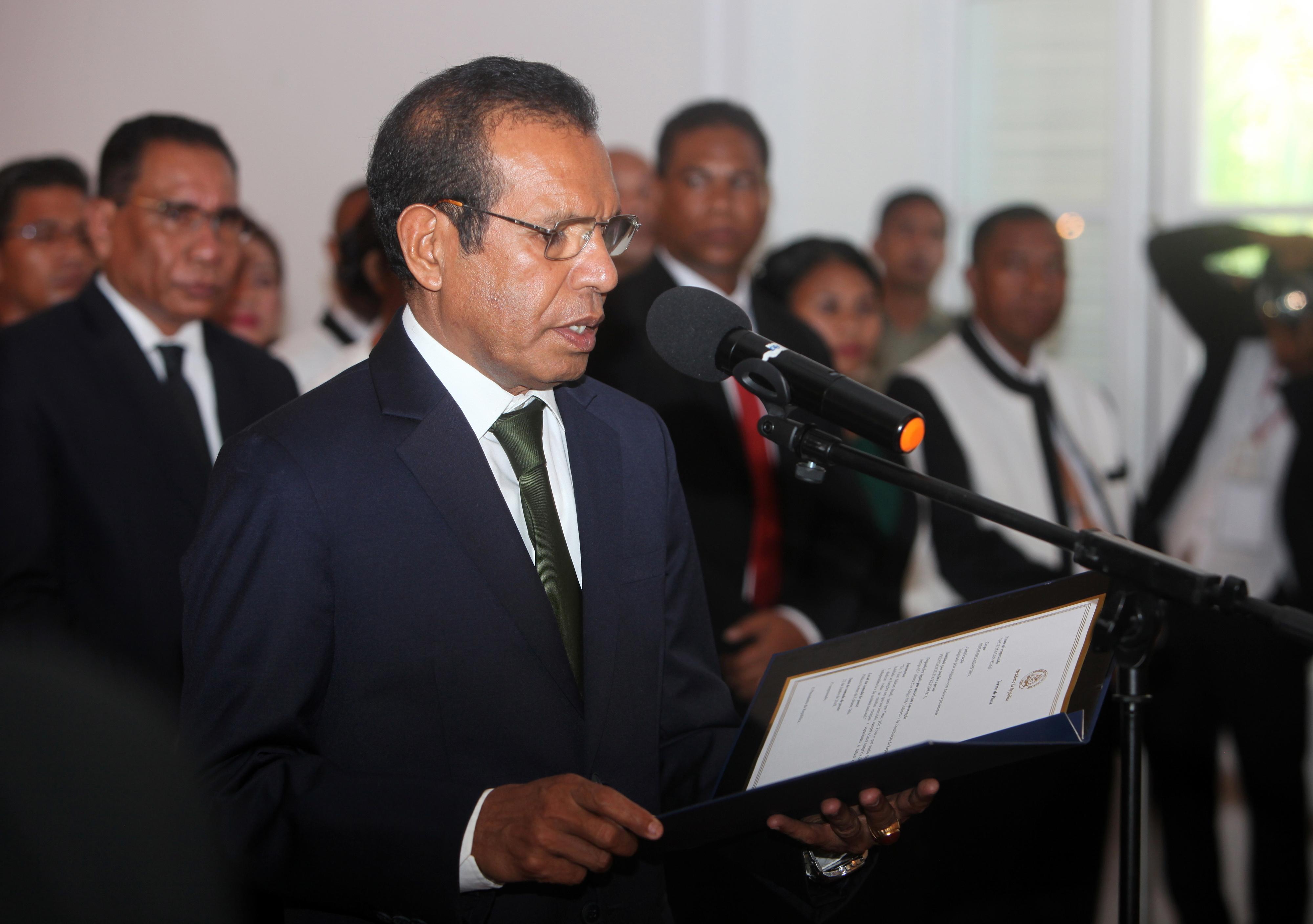 PM timorense admite eleições antecipadas se membros do Governo não tomarem posse