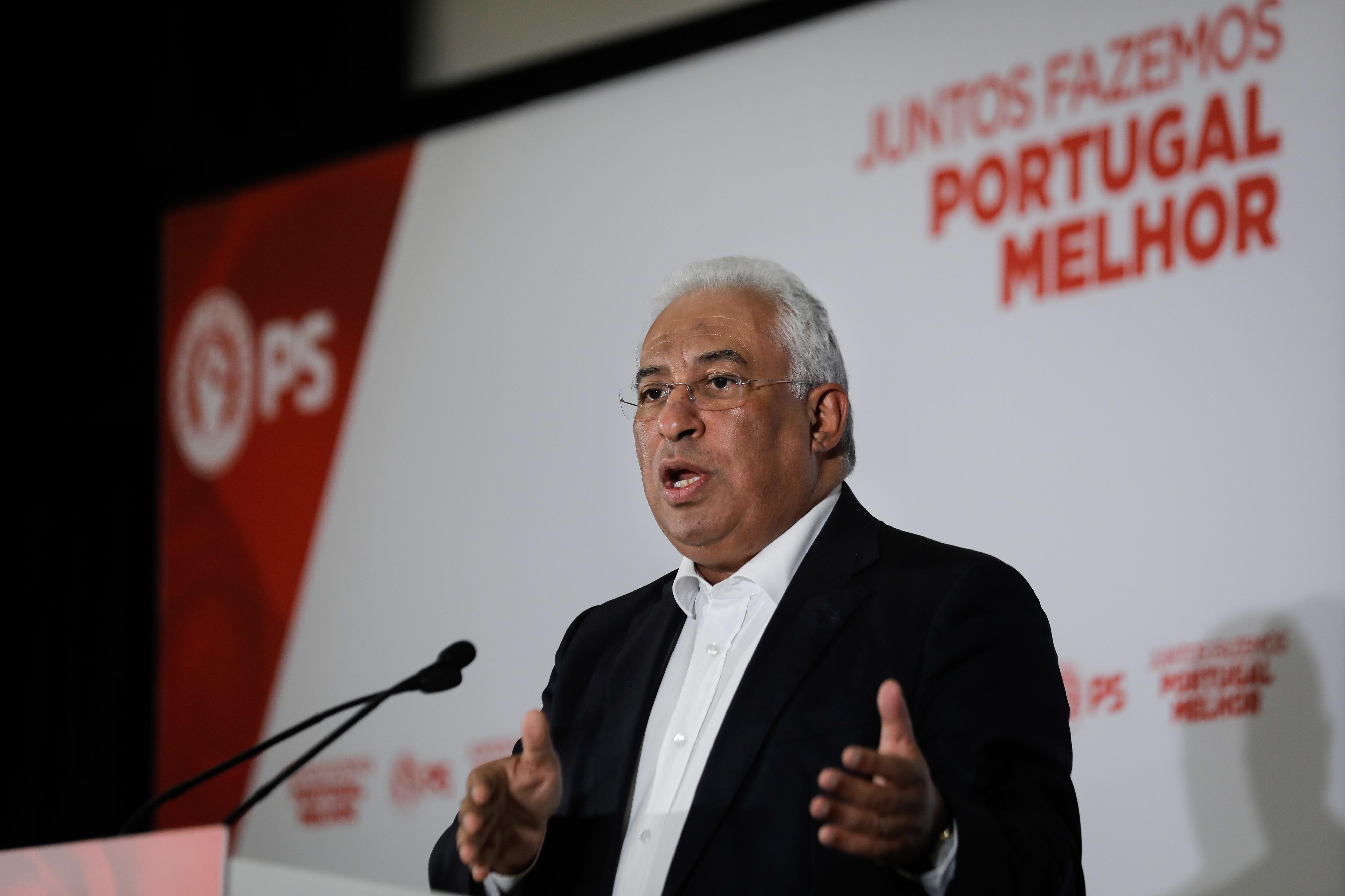 Costa recusa eleitoralismo e diz que trabalha para década de convergência com UE