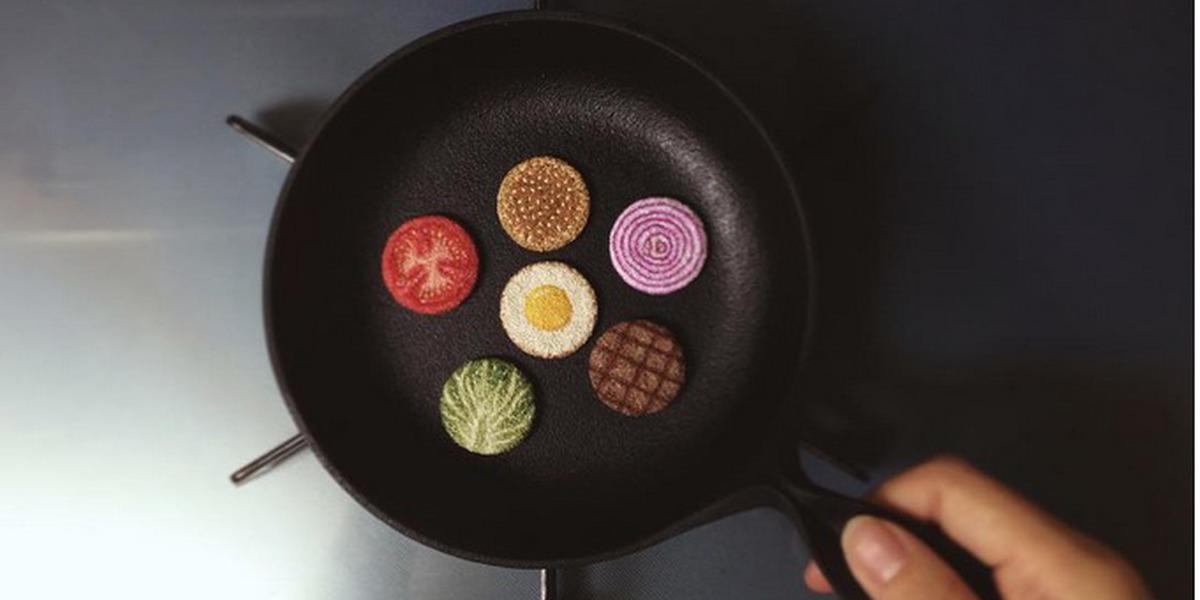 É japonesa e está a encantar o mundo com a sua comida bordada à mão