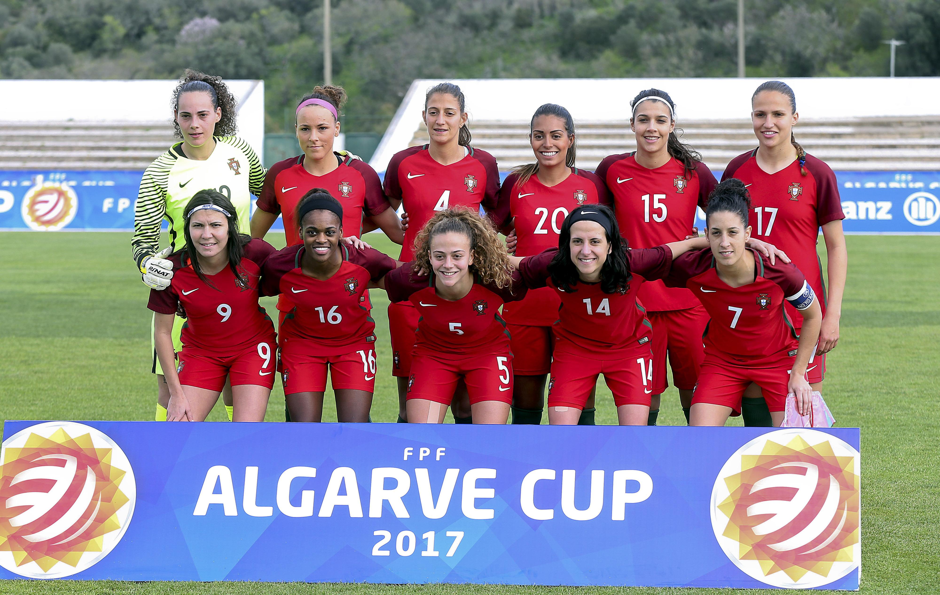 Portugal mantém 38.º lugar no 'ranking' de futebol feminino, liderado pela Alemanha