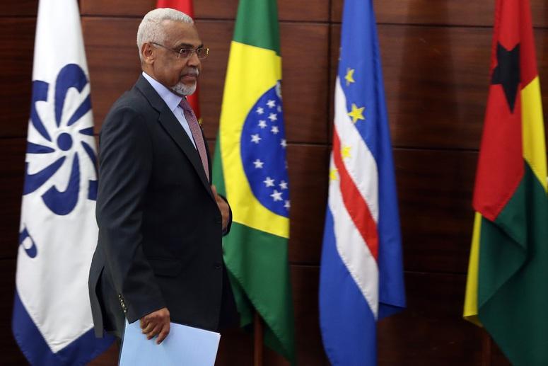 O secretário Executivo da CPLP, embaixador Murade Murargy, durante a sessão solene de comemoração do 20.º Aniversário da CPLP. Foto: Tiago Petinga/Lusa