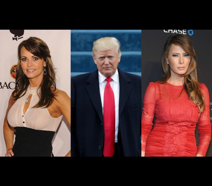 Terá Trump traído Melania com uma modelo da Playboy?