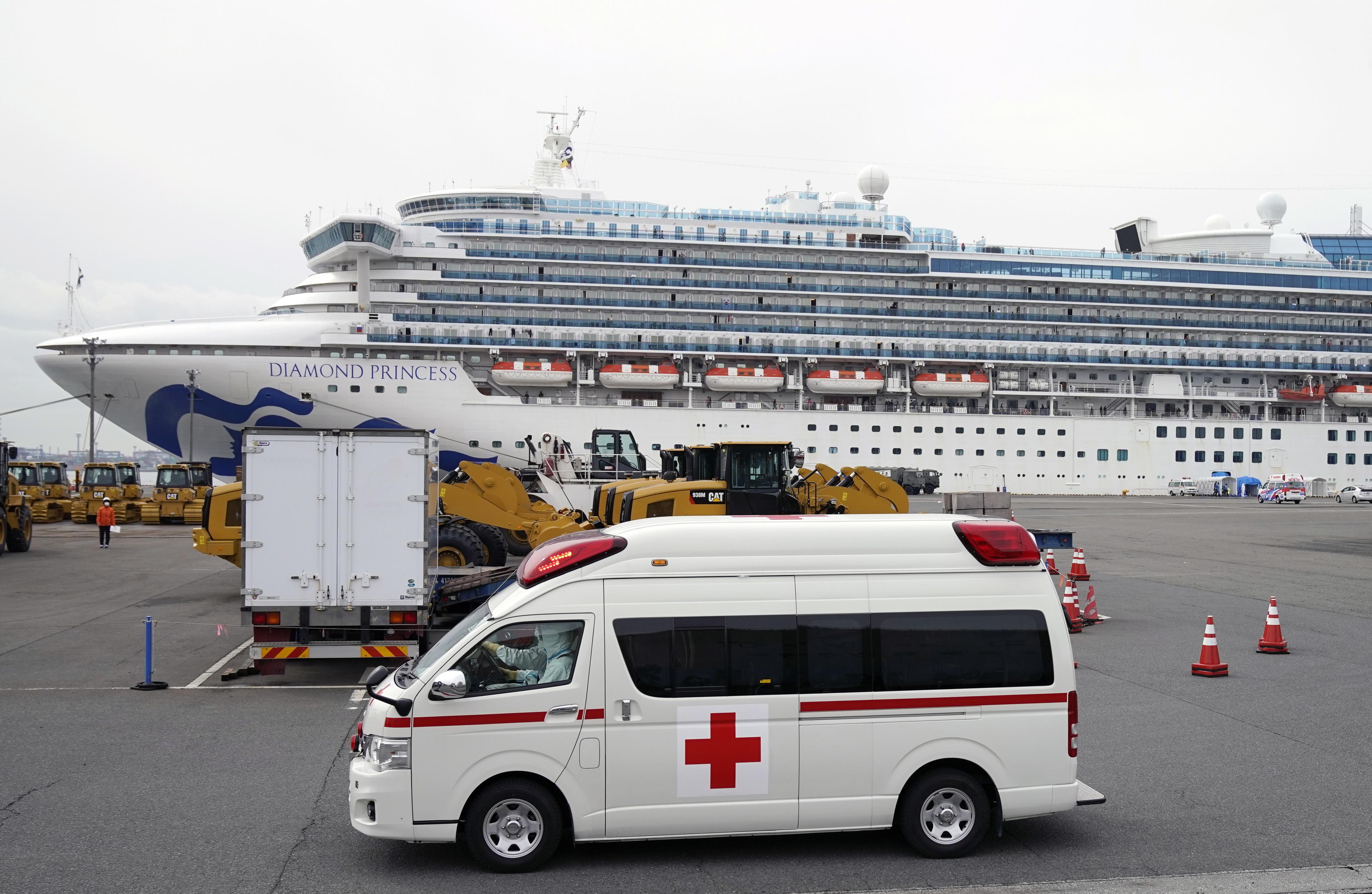 Filipinas vão repatriar 531 cidadãos em navio sob quarentena no Japão
