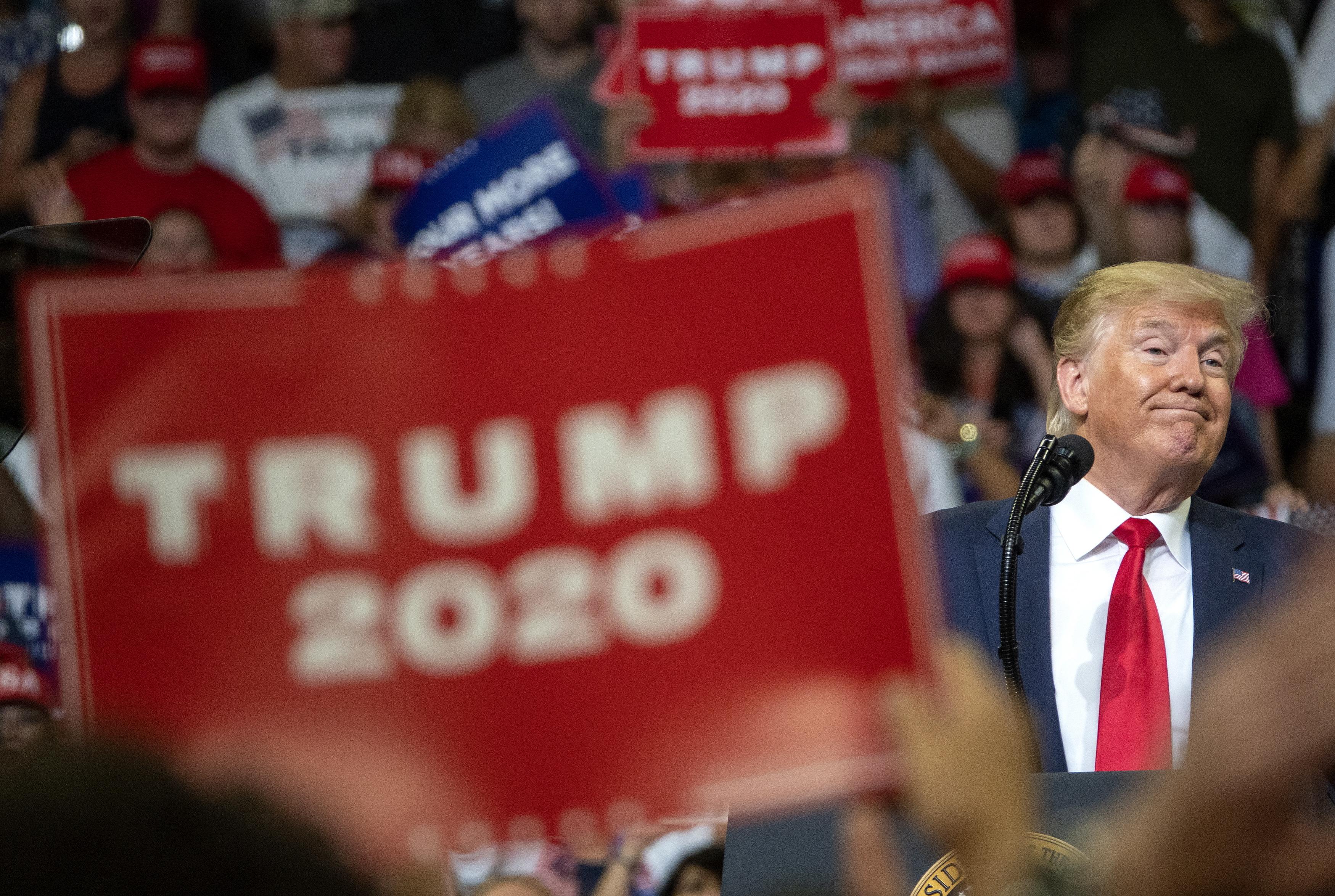 Trump anuncia oficialmente a recandidatura à Casa Branca