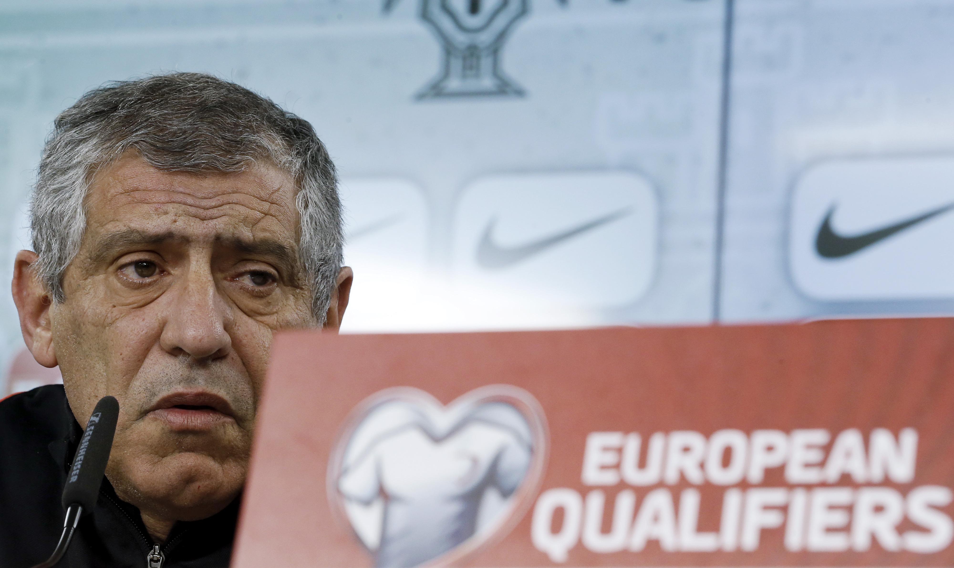 """Fernando Santos quer Portugal a """"controlar e dominar"""" a Hungria"""
