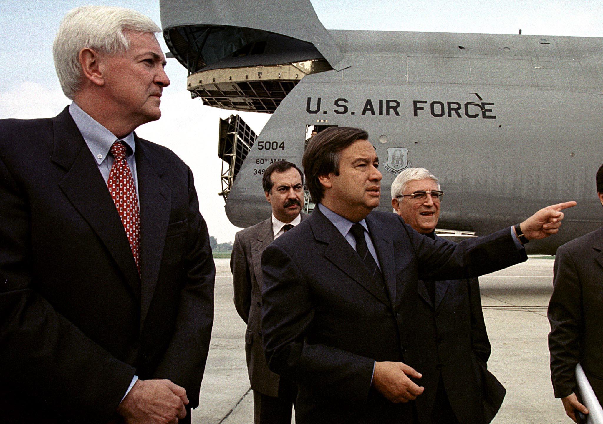 António Guterres e Padre Vítor Melícias