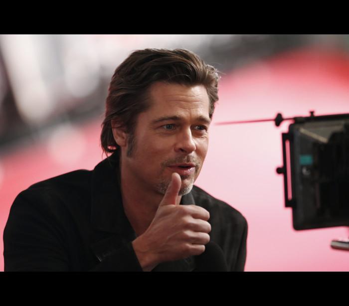"""""""O Brad Pitt vai à casa de banho e deixa a porta aberta"""""""