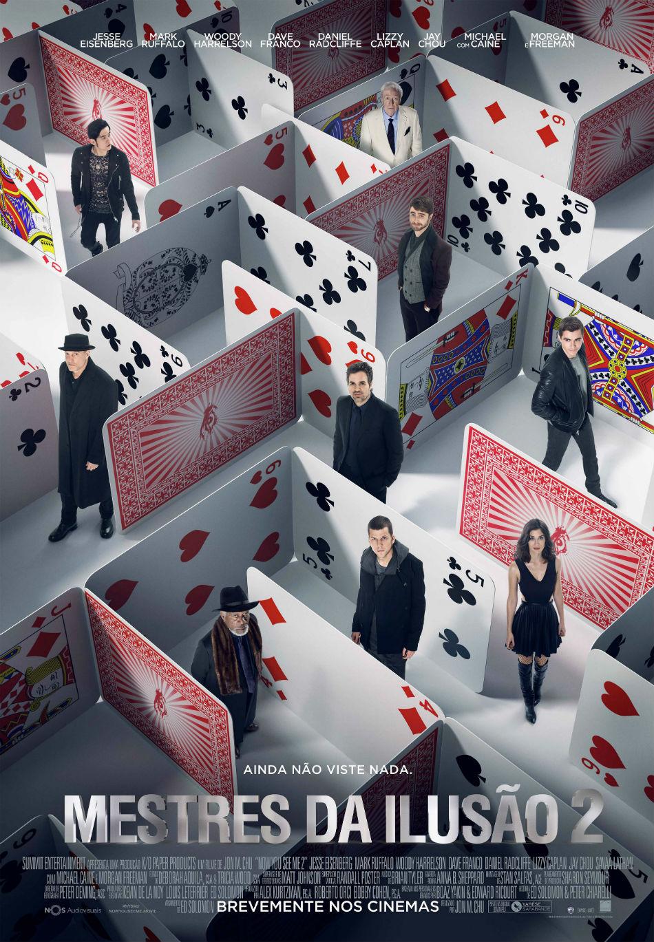 Resultado de imagem para mestres da ilusão 2 cartaz