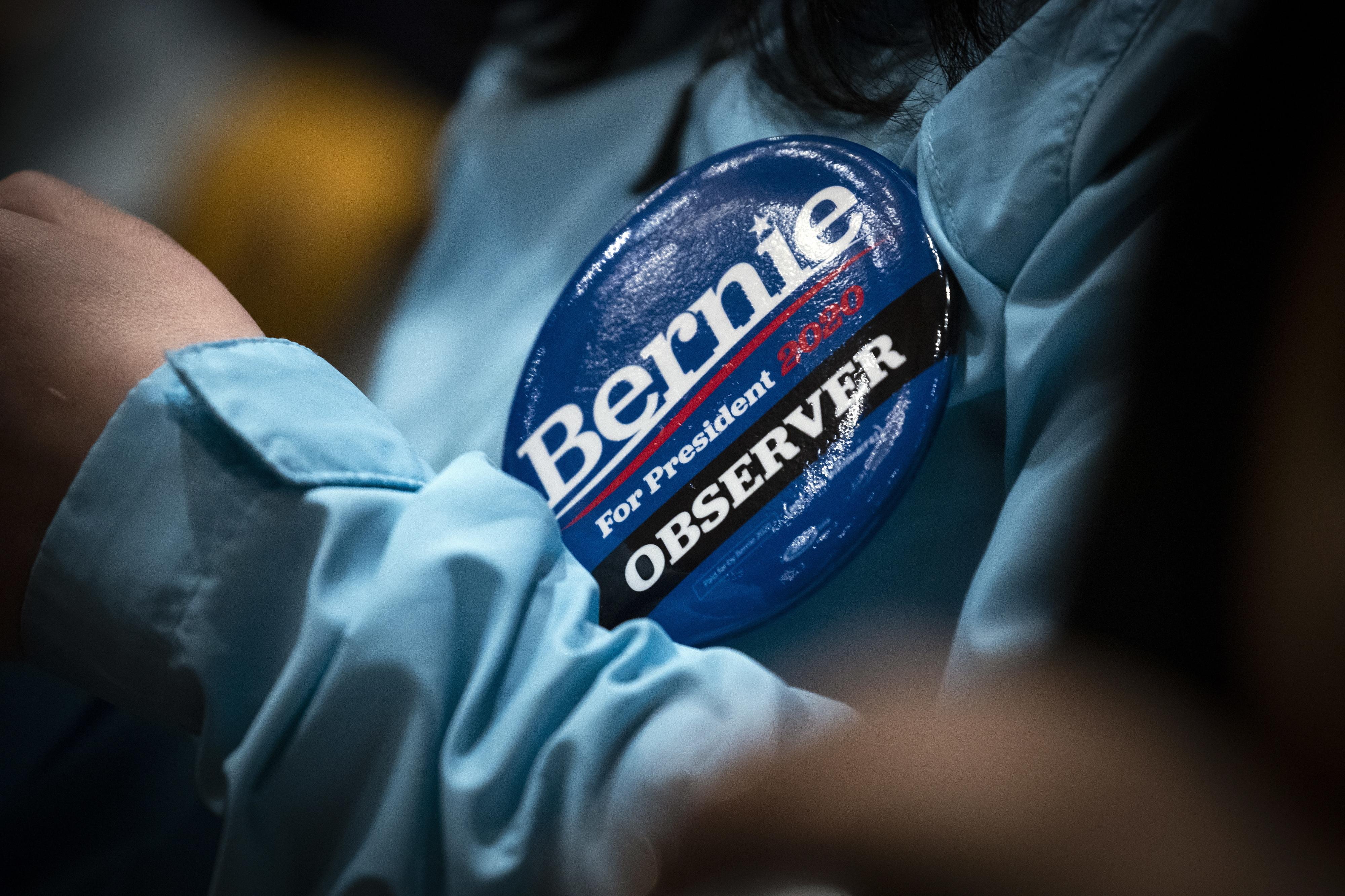Senador Bernie Sanders agradece vitória no estado do Nevada