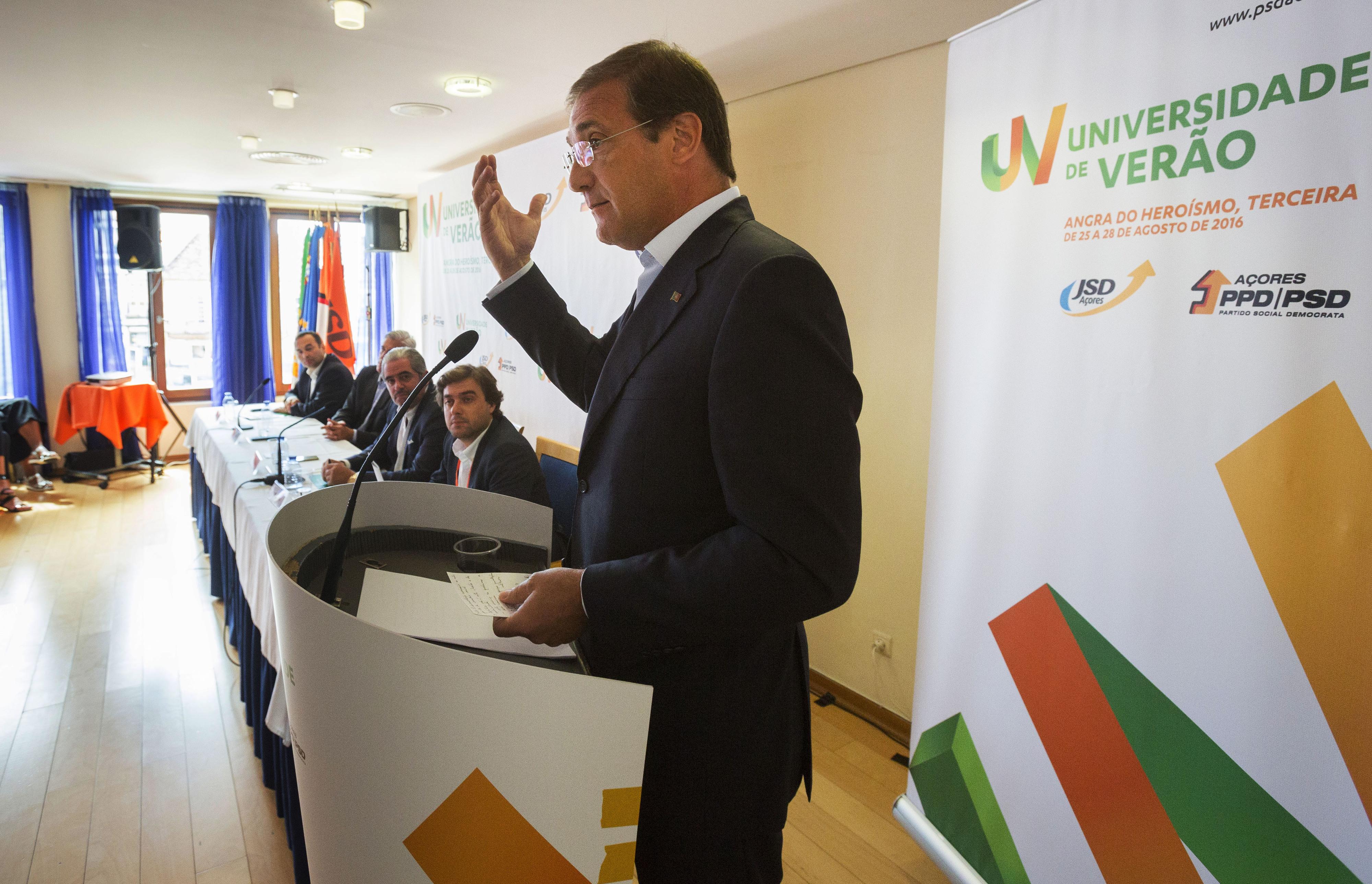 Passos Coelho suspeita que Governo teria de recorrer a retificativo, mesmo sem Caixa