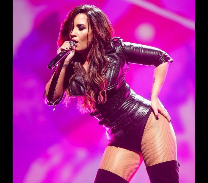O treino intensivo de Demi Lovato
