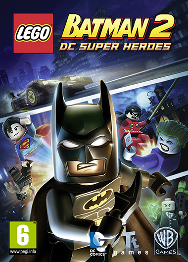 Lego Batman 2 cover