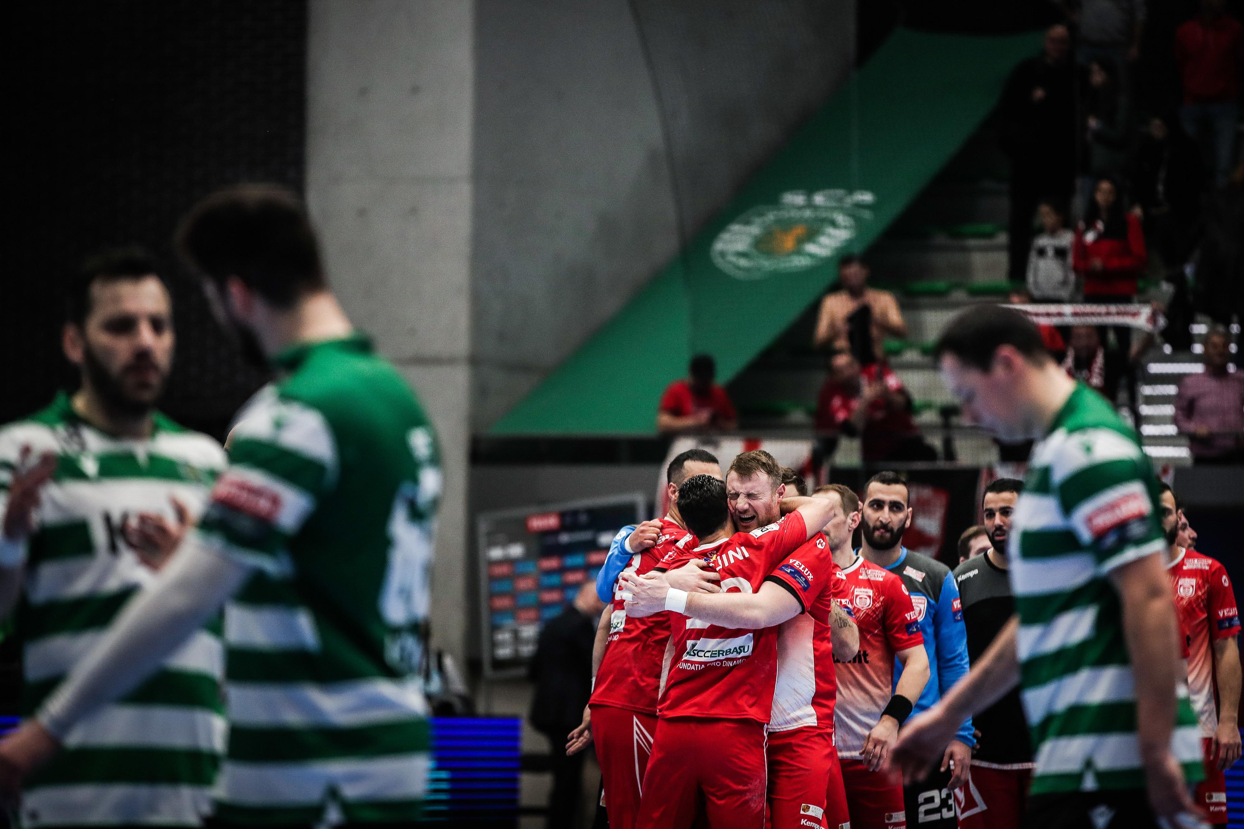 Sporting perde no arranque do acesso aos 'oitavos' da 'champions' de andebol