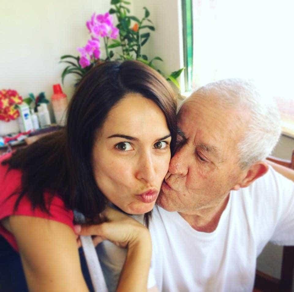 Patrícia Candoso chora a morte do avô