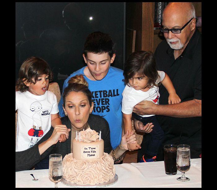 """Céline Dion sobre os filhos: """"Eles sabem que o pai não vai voltar"""""""