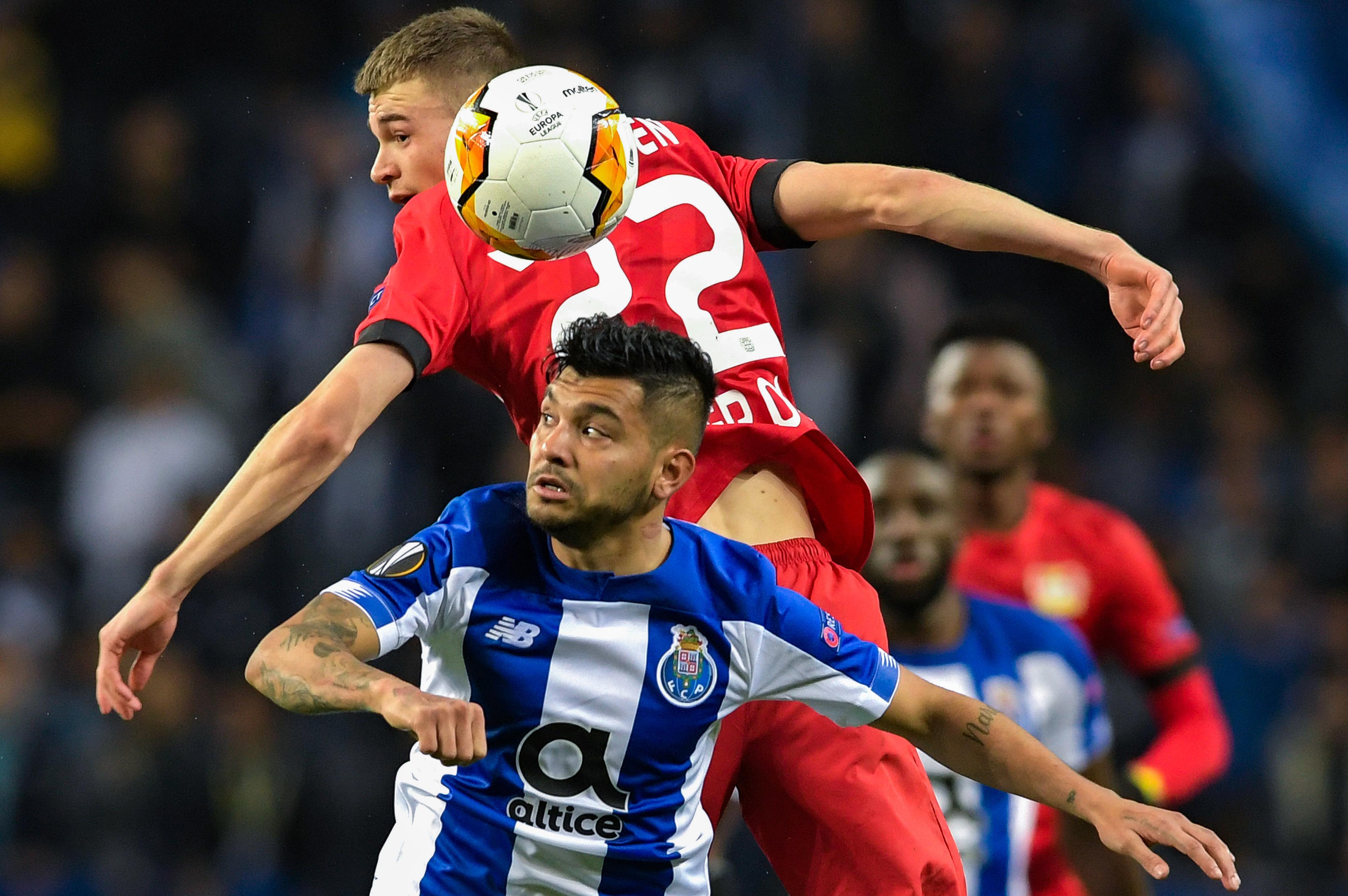 FC Porto perde em casa com Bayer Leverkusen e é eliminado da Liga Europa