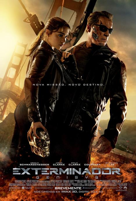 Capa do filme: «Exterminador: Genisys»
