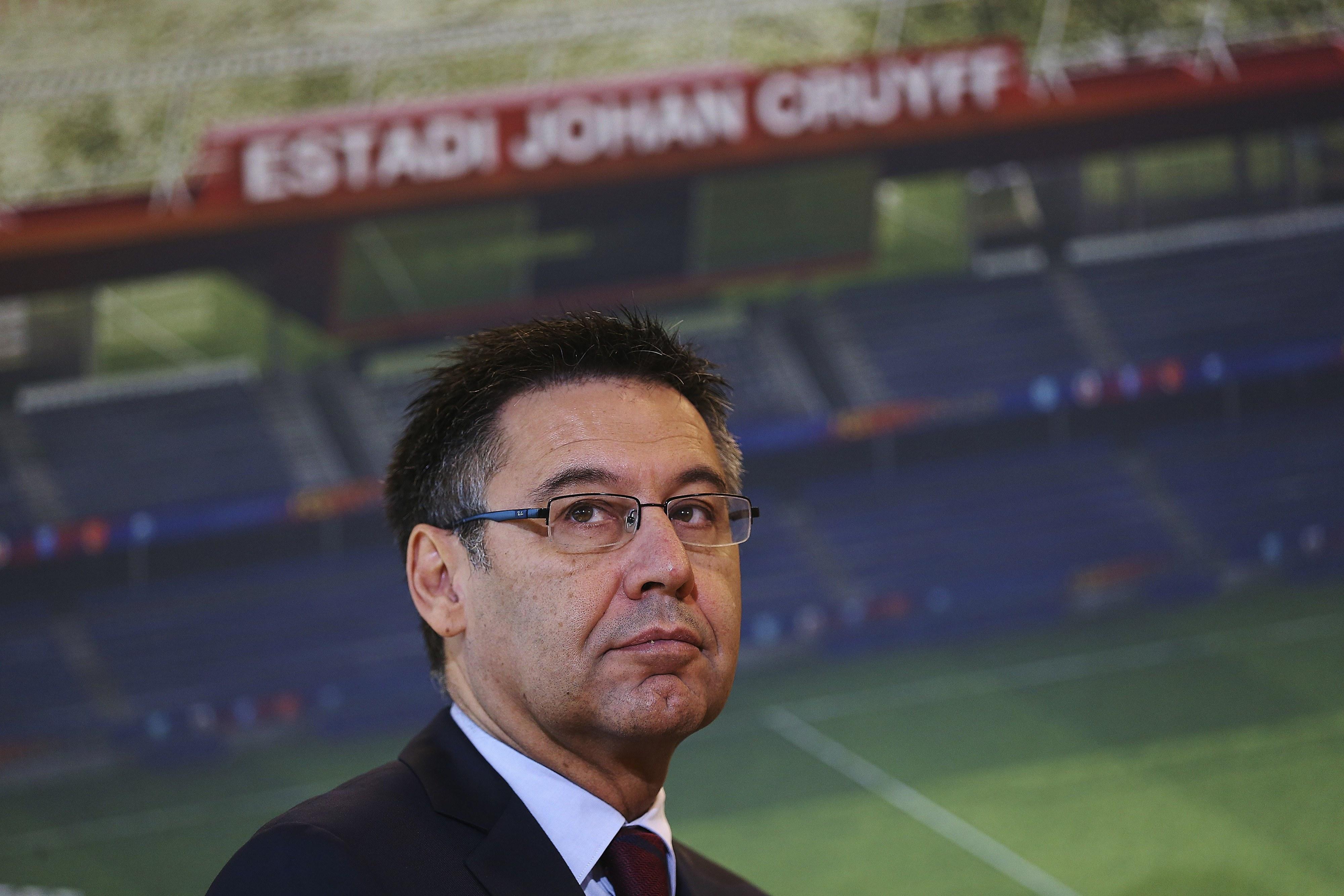 Presidente do FC Barcelona vai a tribunal por corrupção na contratação de Neymar