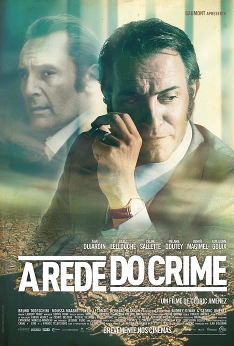 Capa do filme: «A Rede do Crime»