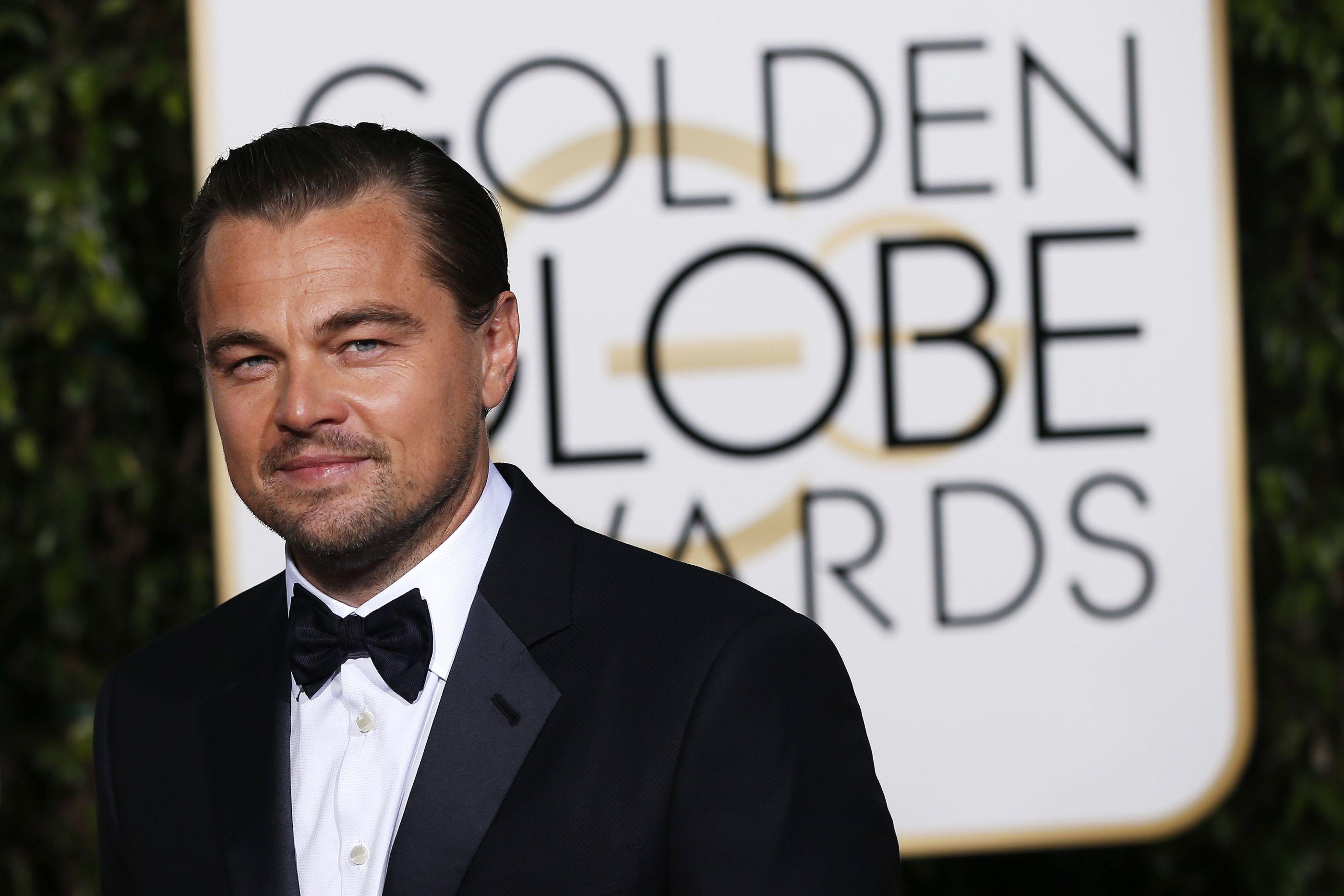 Leonardo Dicaprio 'apanhado' com a ex-namorada