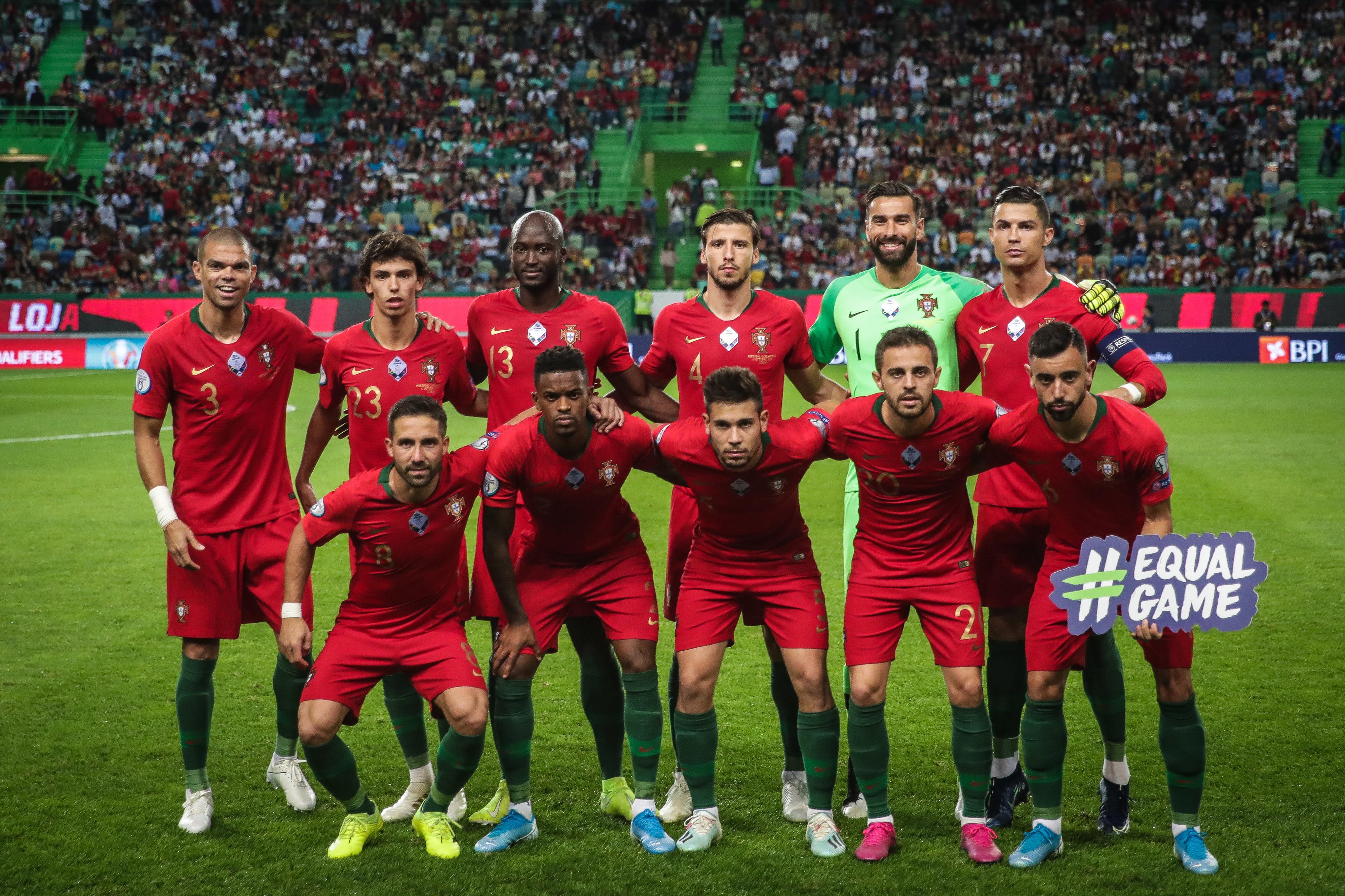 Portugal pode confirmar apuramento com teste difícil em Kiev