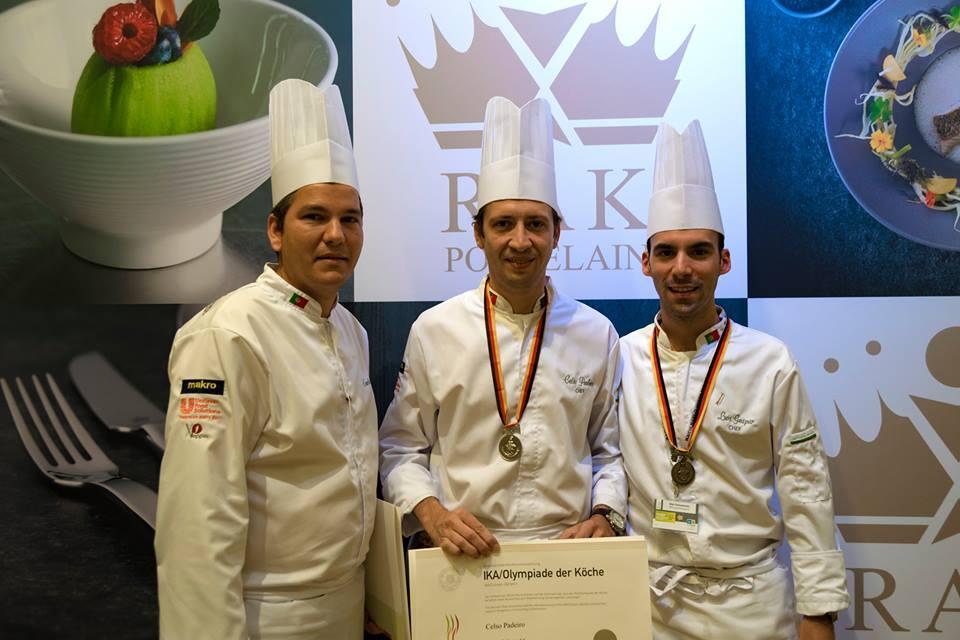 Portugal conquista três medalhas nas Olimpíadas da Culinária
