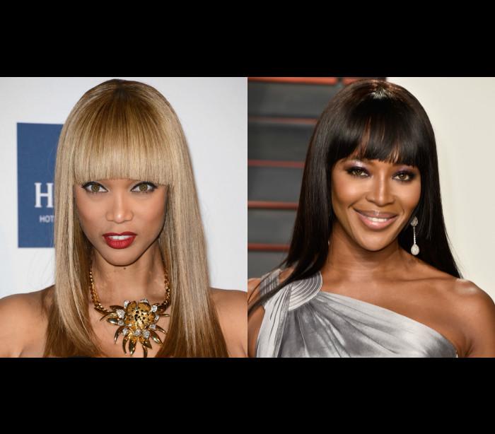 Tyra Banks admite ter 'muito medo' de Naomi Campbell