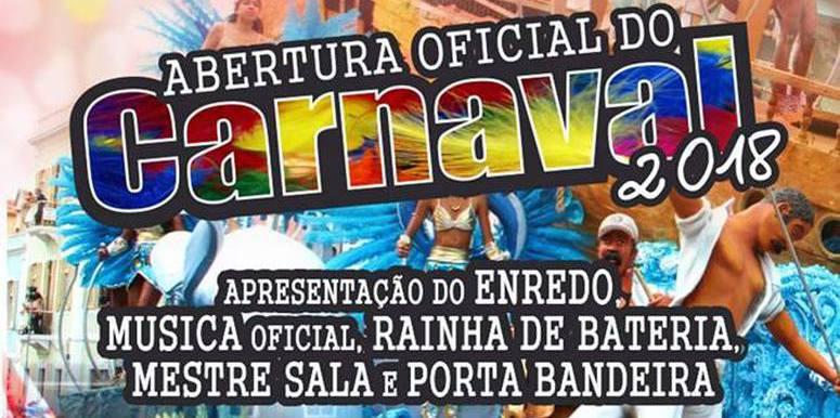 Abertura oficial do Carnaval 2018 - São Vicente