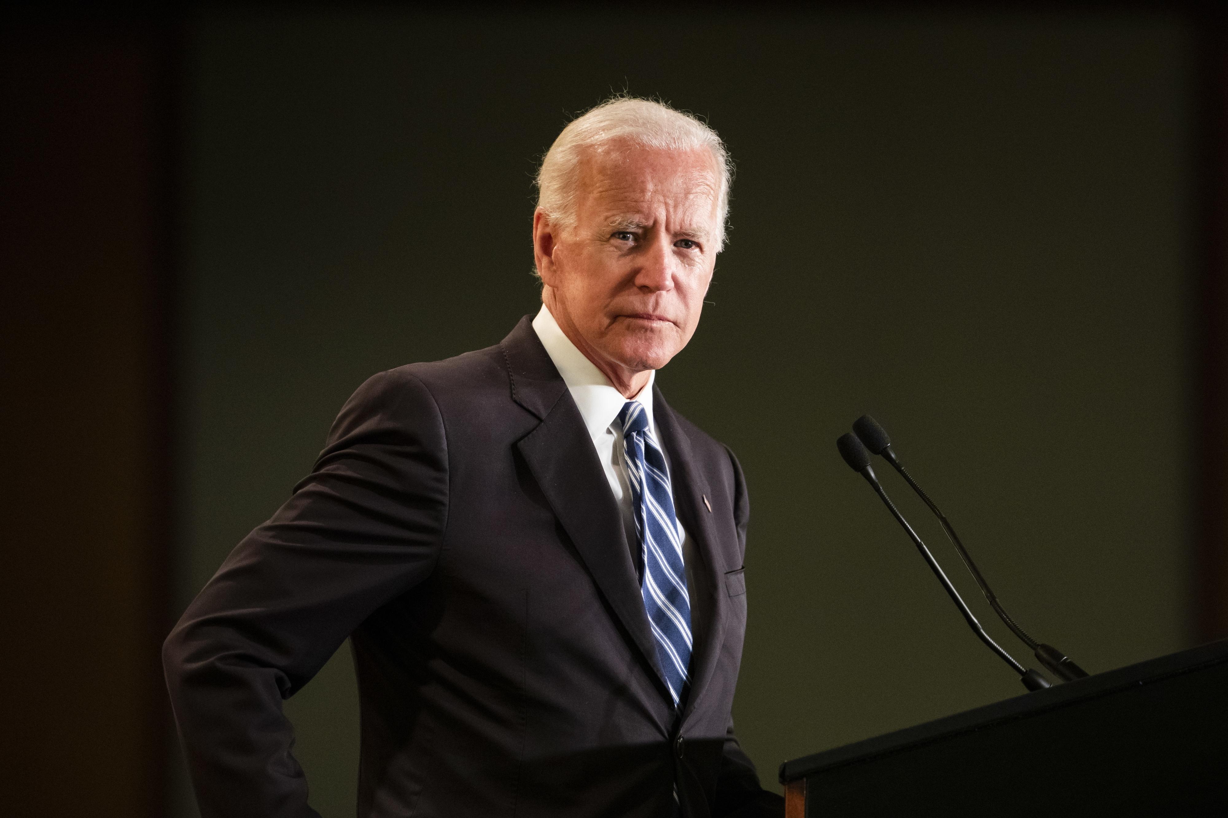 Antigo vice-presidente dos EUA Joe Biden na corrida presidencial de 2020
