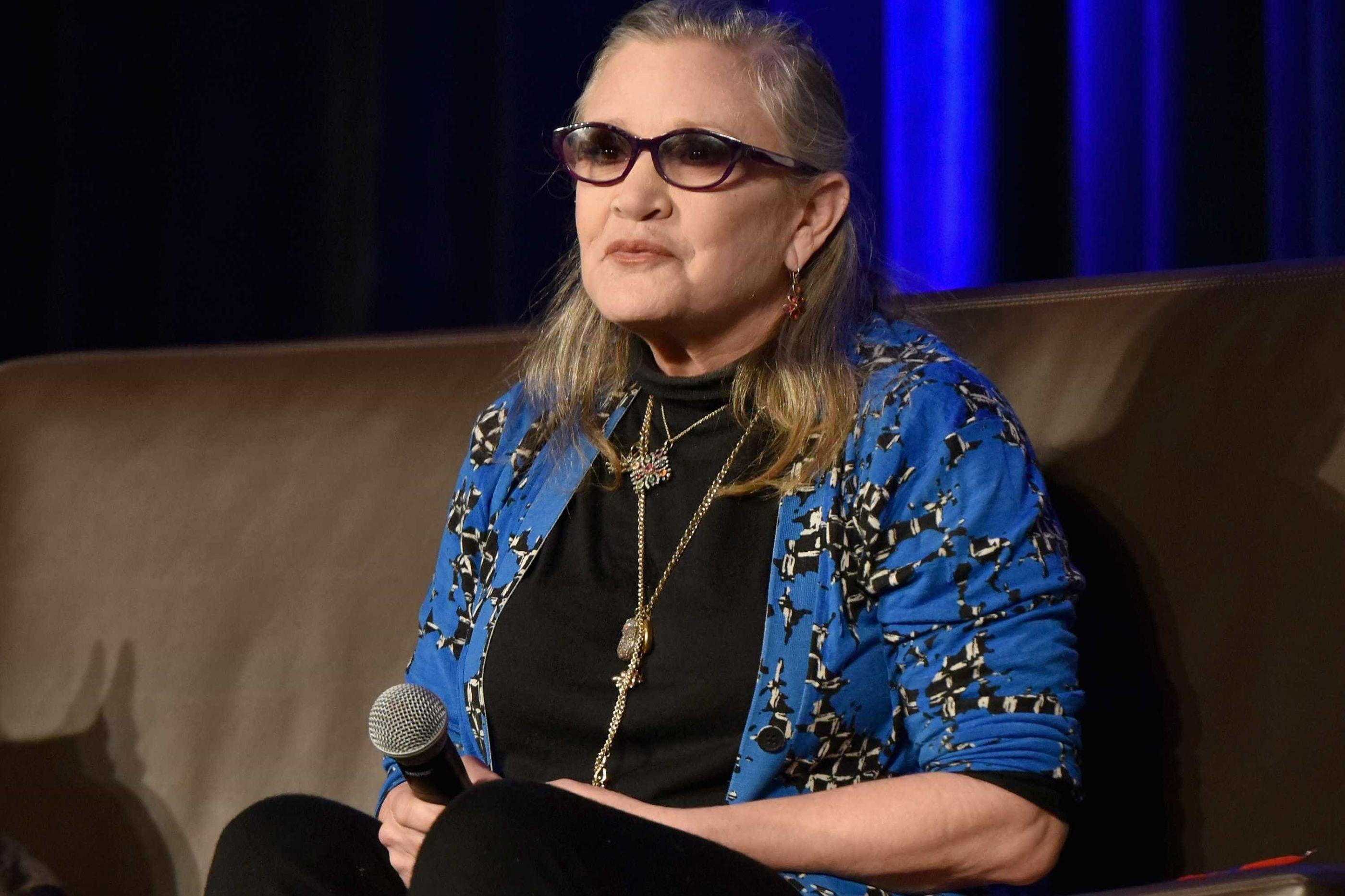 Filha e irmão de Fisher irão relembrar atriz no dia em que faria 61 anos