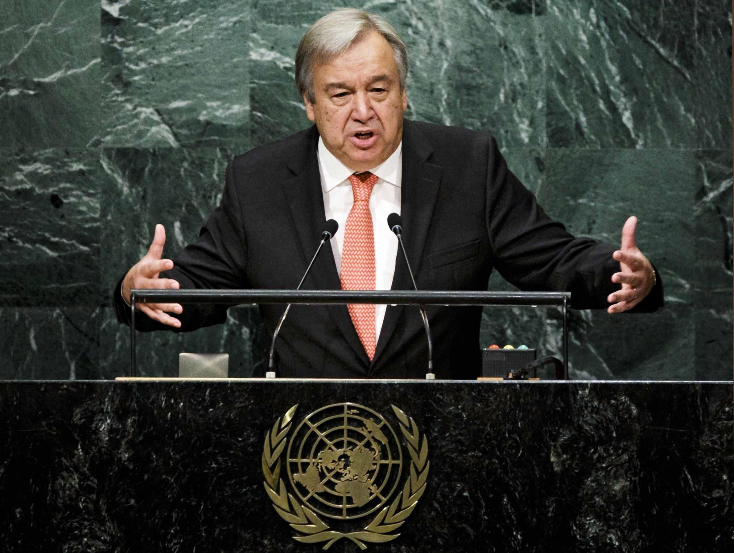 António Guterres vai reunir-se com o Presidente do Brasil
