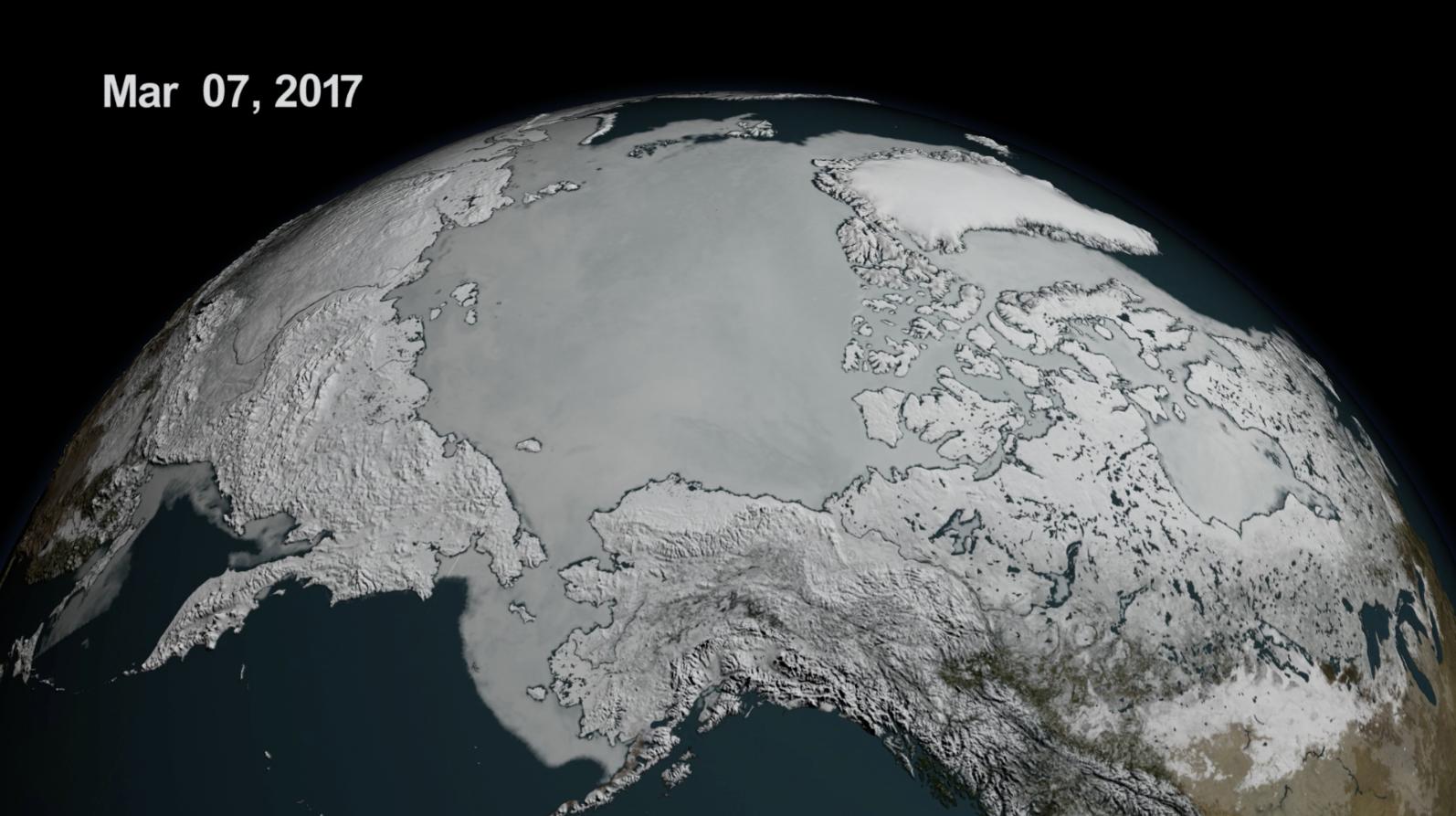 Gelo ártico atinge novos mínimos nos dois polos. NASA diz que é o pior resultado de sempre