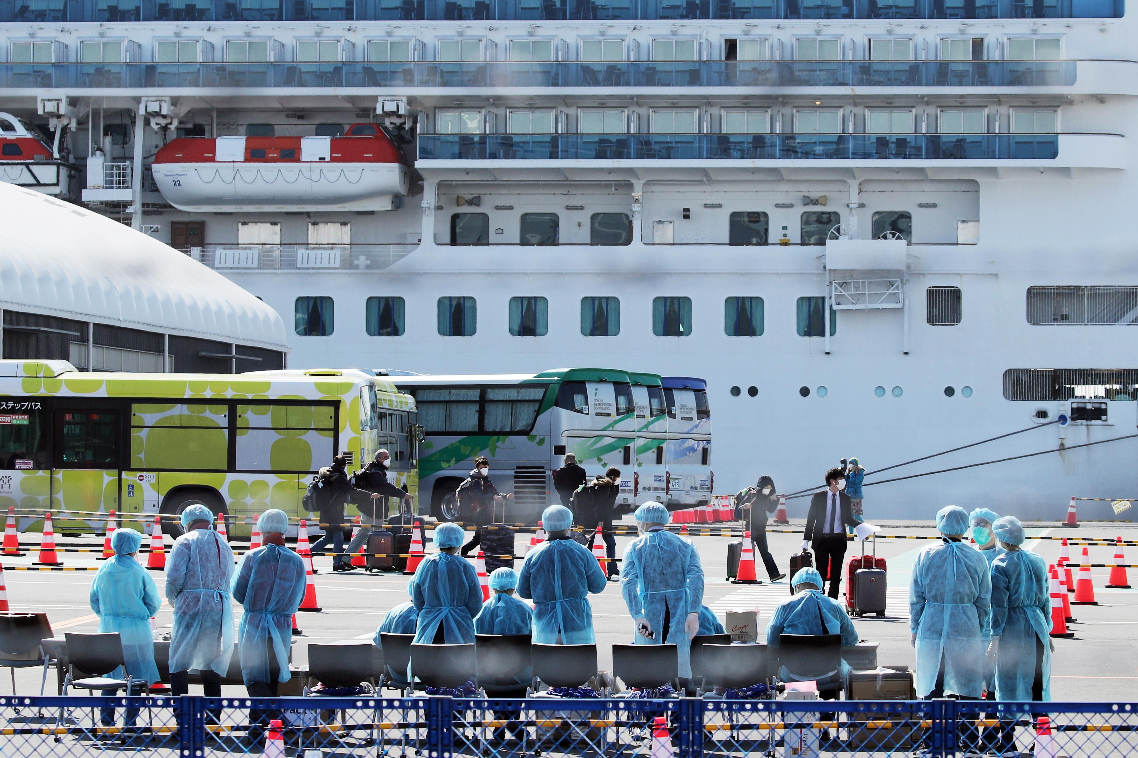 Tripulante em navio japonês pode ser primeiro português infetado com Covid-19