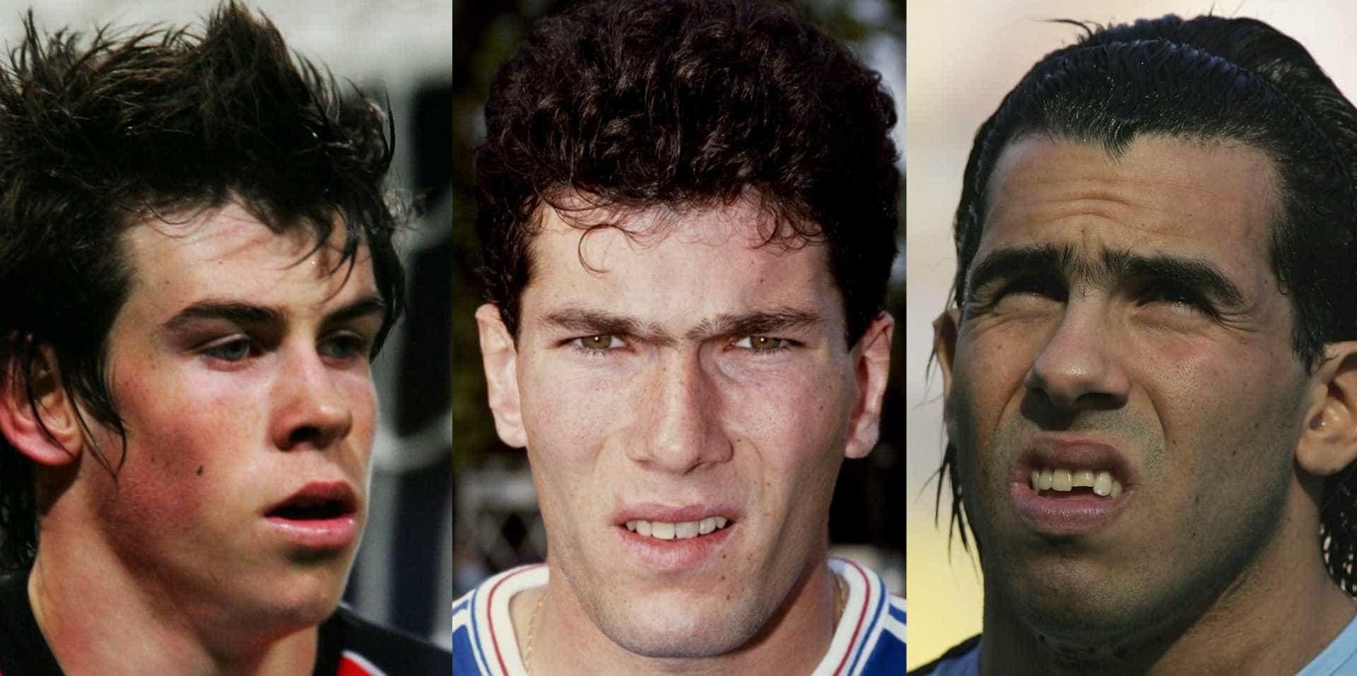 Veja o antes e depois dos jogadores mais emblemáticos do futebol