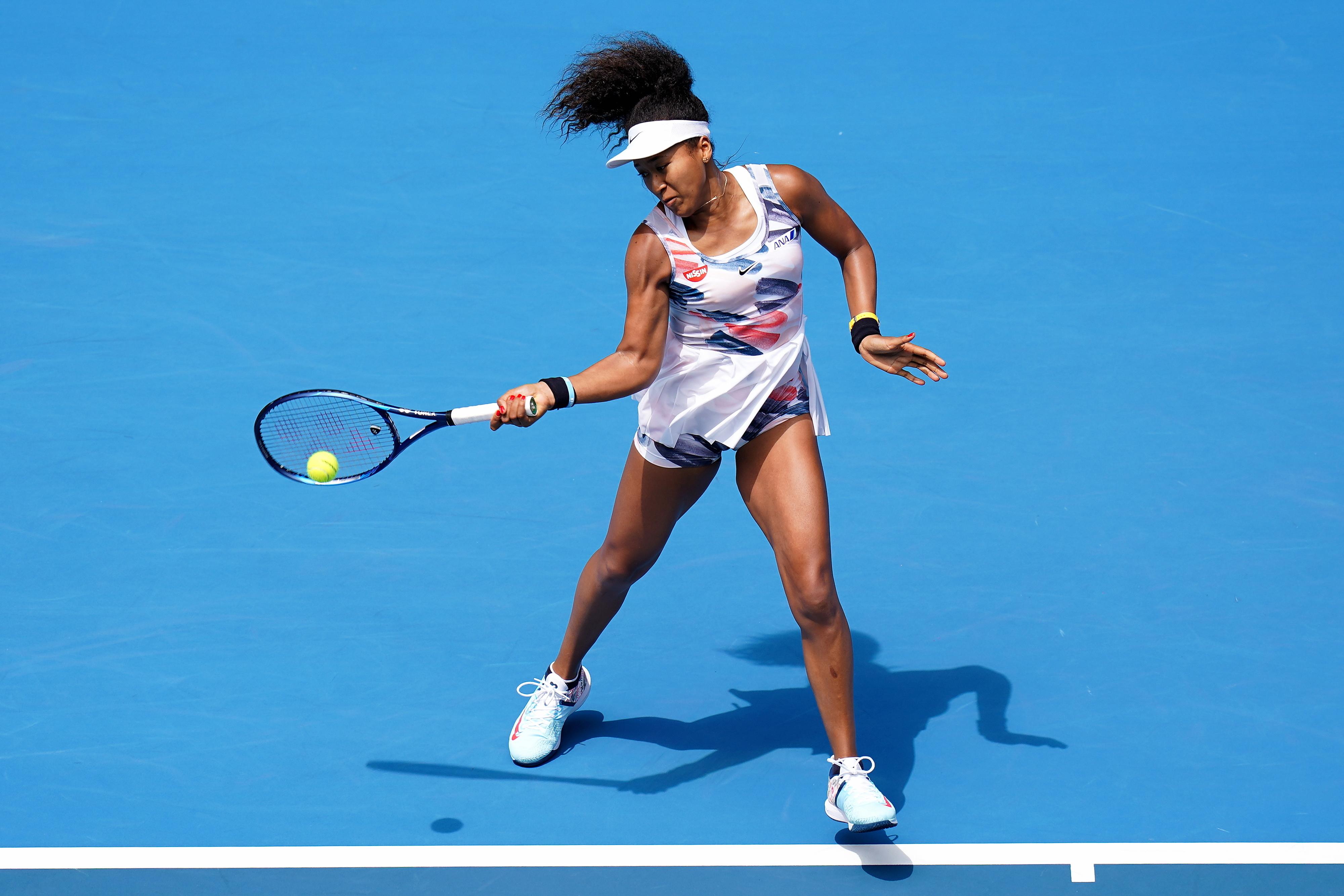 Naomi Osaka entra a vencer no Open da Austrália