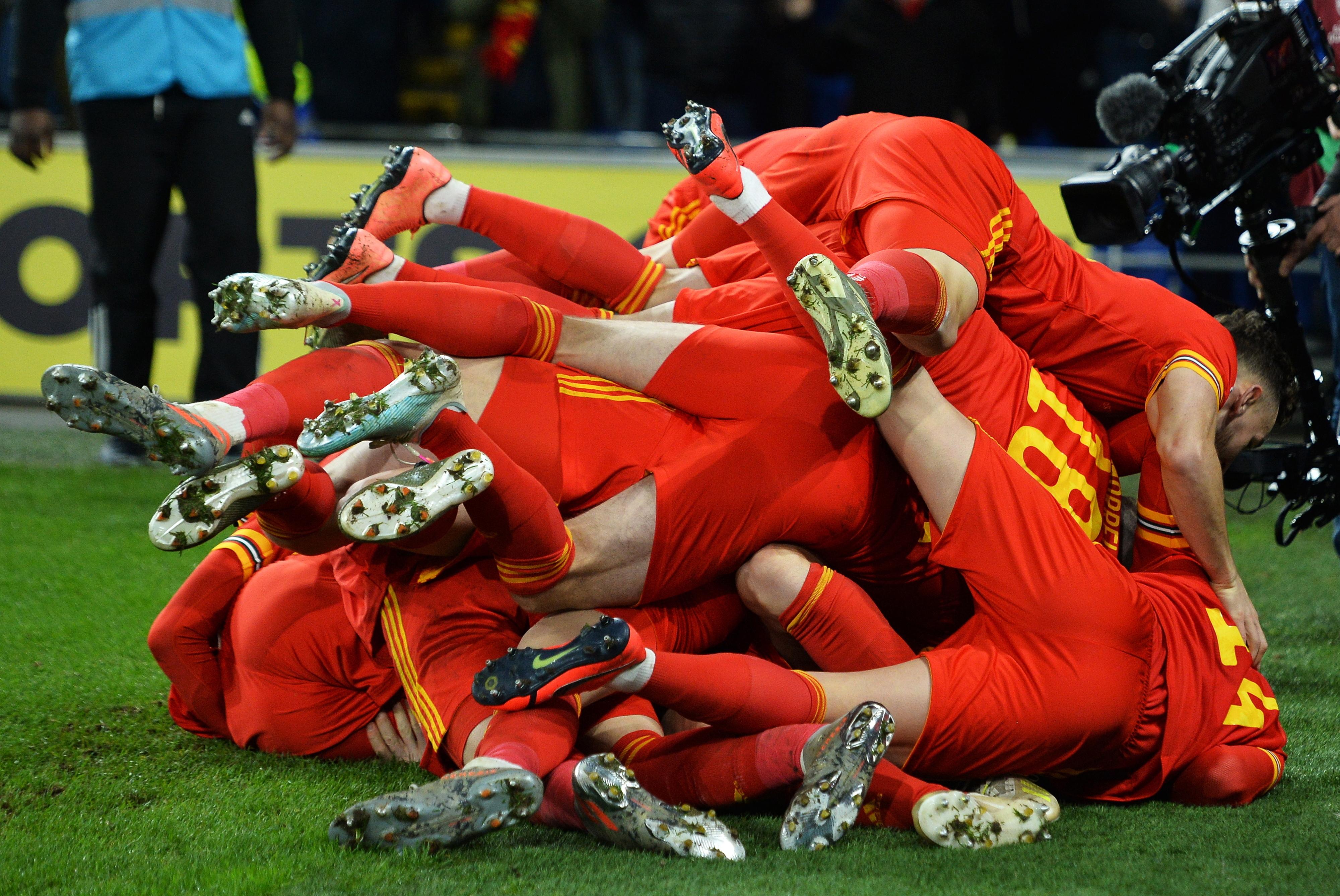 País de Gales conquista 20.ª vaga na fase final do Euro2020