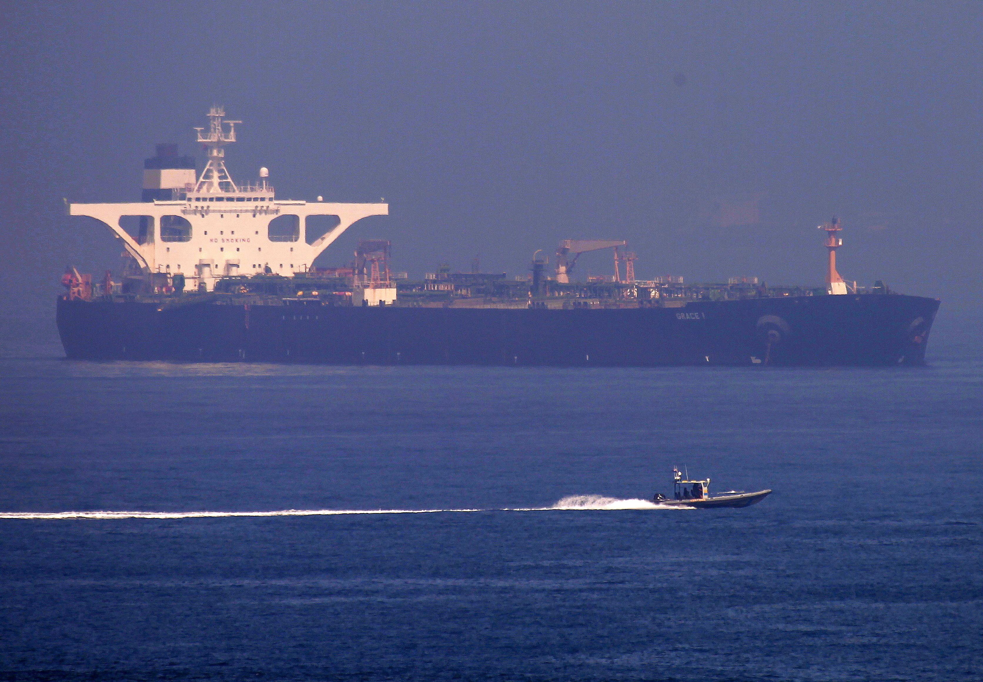 Estados Unidos emitem mandado captura a petroleiro iraniano