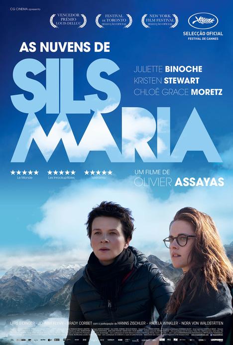 Capa do filme: «As Nuvens de Sils Maria»