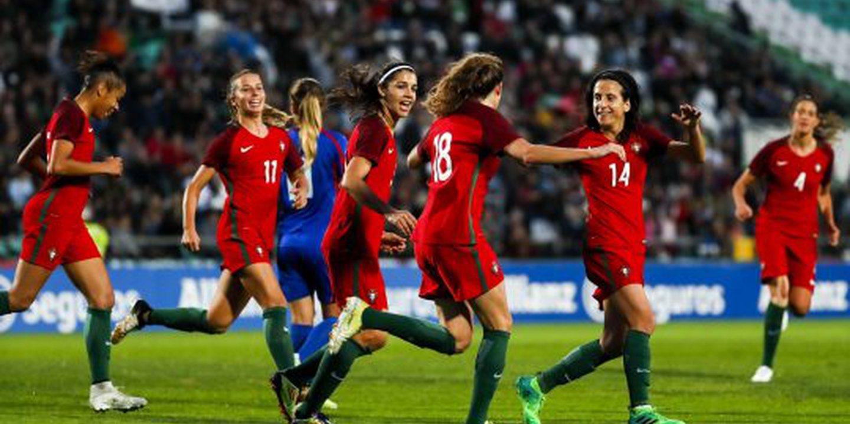 Seleção feminina perde quatro lugares e termina o ano na 38.ª posição da FIFA