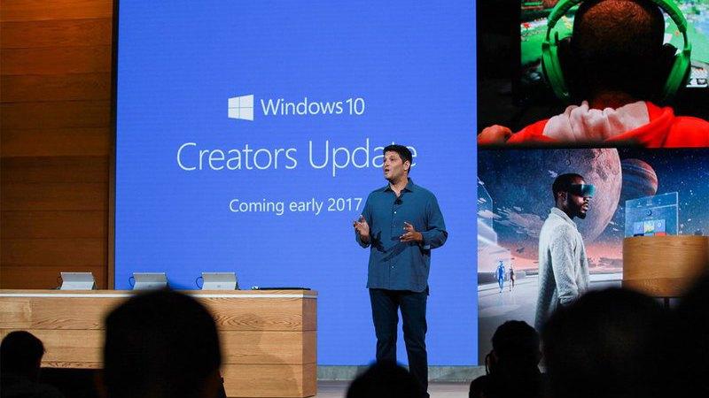 Creators Update é já a versão mais usada do Windows 10