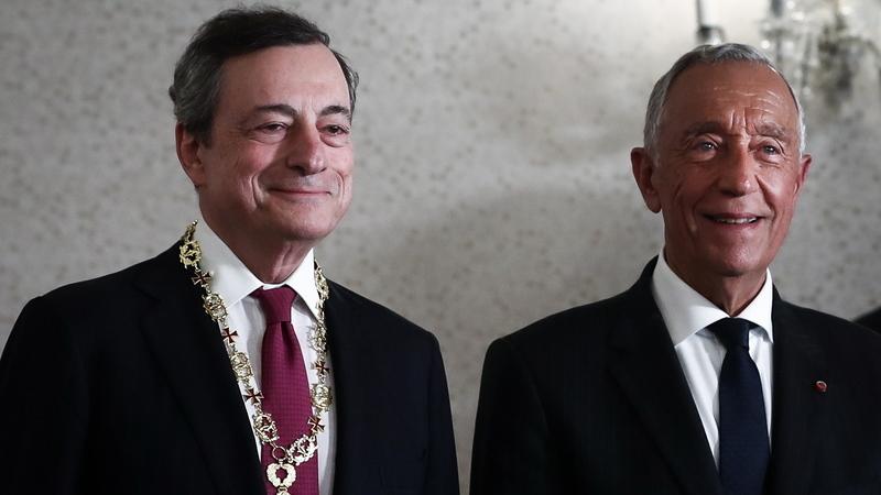 Portugal está no caminho do crescimento e é símbolo da integração europeia, afirma Mario Draghi