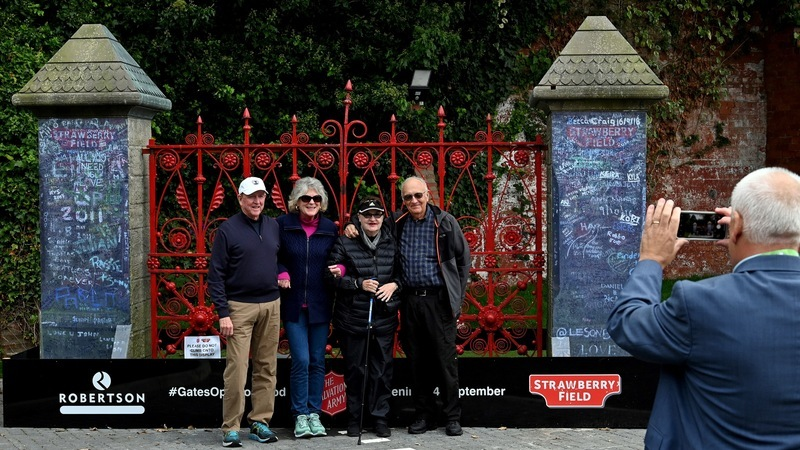 Strawberry Fields: o jardim secreto de John Lennon está aberto ao público