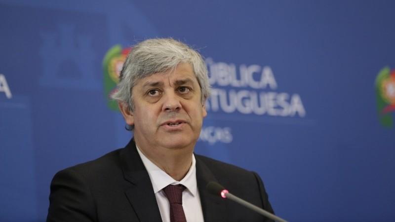 """Centeno diz que teoria sobre despedida do Eurogrupo """"não faz sentido nenhum"""""""